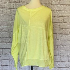 Sundance yellow long sleeve T-shirt size L
